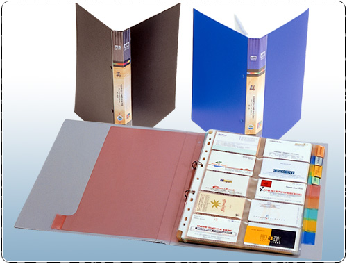 Business Card Organiser 500 Cards With Indexes A4 Size