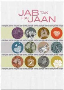 Jab Tak Hai Jaan Year Journal A