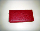 Stunning Ostrich Red women's wallet ― Online Stationery Store