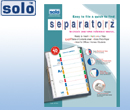 Separatorz Set of 10 Size - A4
