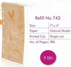 Business Organiser Refill No - 743 ― Online Stationery Store