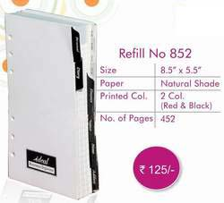 Exective Organiser Refill No - 852 ― Online Stationery Store