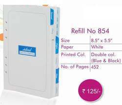 Exective Organiser Refill No - 854 ― Online Stationery Store
